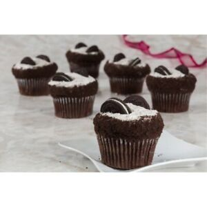 Dulcet Gift Basket Cookies and Cream Chocolate Cupcakes- 12 Count