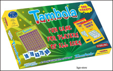 Tambola fun game for players of all ages (a family entertainment classic game)