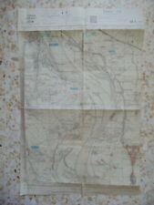 CARTE GUERRE INDOCHINE INDOCHINA WAR MAP TONKIN HANOÏ HA-NÔI 1952 1/25000