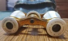 New listing Ruth Wilson's antique Mother of Pearl Paris Opera Glasses with Case