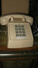 Cortelco  Push Button Touch Tone Desk Phone Telephone Beige TESTED