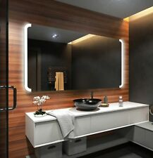 Moderne Miroir Salle De Bain Avec LED Illumination Éclairage Miroirs Muraux L72