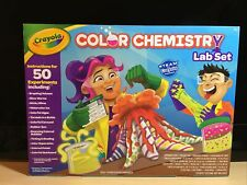 Crayola Color Chemistry Lab Set - Instructions For 50 Experiments - Ships Free