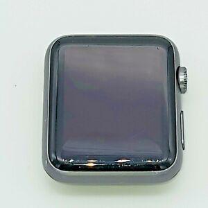 Apple Watch Gen 1 42mm Space Gray Aluminum Case Series 7000 Black Sport Band