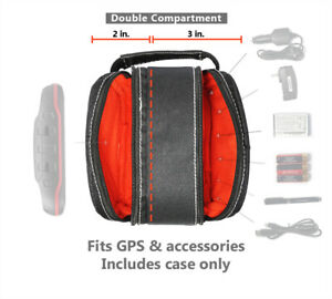 TomTom Double-compartment Travel Carrying Case Bag for Garmin Handheld GPS