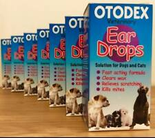 Petlife Otodex Veterinary Ear Drops for Pet Dog Cat Kills Mites SAMEDAY DISPATCH