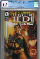 Star Wars Tales of the Jedi Sith War 1 CGC 9.4 1st Mandalore Mandalorian DH 1995
