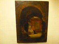 GRANET François-Marius - MOINE EN PRIERE - vers 1800/1820 - art, peinture, huile