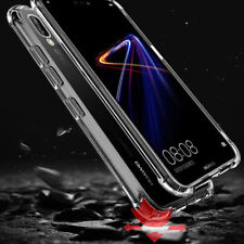 For Huawei Mate 20 Lite P20 Pro Fibre TPU Silicone Gel Case Protection Cover