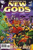 Death Of The New Gods Comic Issue 1 Modern Age First Print Jim Starlin Banning
