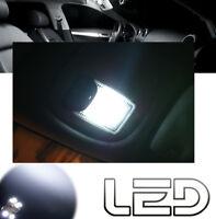 Peugeot 206 2 Ampoules LED Blanc Eclairage Habitacle plafonnier et Coffre