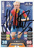 Crystal Palace F.C J Williams  Hand Signed Premier League Match Attax 13/14.