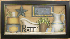 Bath Pictures Buttermilk Antique Bath Framed Country Pictures Prints
