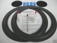 """Tannoy HPD385 HPD 385 15"""" Woofer Foam Speaker Kit w/ Brush, Shims & Dust Caps!"""