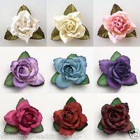 Large 50mm Roses - Mulberry Paper Flowers - Wedding Headband Decoration Craft