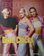 "Dixie Chicks ""Pulse"" U.S. Promo Poster - Country Bluegrass Rock Music"