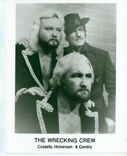 8X10 PHOTO WRESTLERS COSTELLO HICKERSON & CONDRY