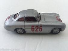 1952 Hongwell Mille Miglia Silver Mercedes Benz 300Sl 626 Diecast Metal Toy Car