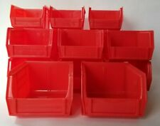 17 Akro-Bins Red Model 08-212 Stackable Organization Bins 4x5x3 Akro-Mils Brand