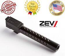 NEW ZEV Tech Technologies Glock 17 Gen 3 / 4 Black DLC Dimpled Match Barrel