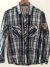 Tokyo Laundry Vintage Apparel Checked Shirt LS Size M