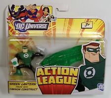 GREEN LANTERN CANNON CONSTRUCT FIGURE SET DC UNIVERSE ACTION LEAGUE MOSC 2011