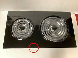 Jenn-Air Expressions AC110B14 Electric Coil Cooktop Cartridge - Black - CHIPPED