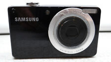 Samsung DualView TL205 12.2MP Digital Camera - Black Point & Shoot Easy to use