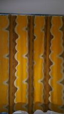 Mid Century Vorhang-Stoff 220*230 cm Vintage Curtain 70s Space Age
