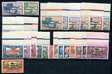 Nouv Caledonie 1933 pa 3-19,21-28 ** post frescos (z7212b