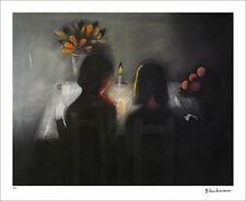 """CHARLES BLACKMAN """"The Angelus"""" Signed, Limited Edition Print 66cm x 84cm"""