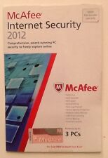 McAfee Internet Security 2012 - 3-USER