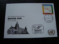 United Nations (Vienna) - Card 24/5/2001 (cy51)