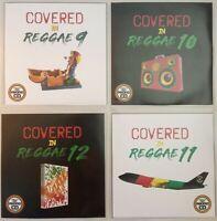 Covered In Reggae 4CD Jumbo Pack 3 (Vol 9-12) - Popular cover versions in Reggae