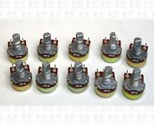 GH 10K Ohm Mini Pots Potentiometers B10K B10K No Nuts Lot Of 10 For Guitar Amp