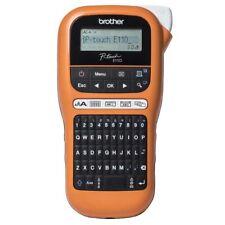 Brother PTE110G1 P-Touch Beschritungsgerät QWERTZ-Tastatur Hinterbanddruck NEU