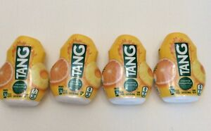 (4) Tang Orange Pineapple Liquid Concentrate Drink Mix 1.62 fl oz -BB 3/28/2021