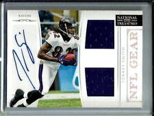Torrey Smith 2011 National Treasures Autograph Game Used Jersey #39/49