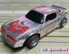 para H0 coche slot racing Maqueta de tren Corvette con TYCO Chasis Y