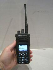 Motorola XPR 7550e 403-512 MHz UHF Digital Radio AAH56RDN9WA1AN w/Batt