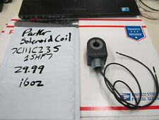 PARKER SOLENOID COIL 7C111C2 35 1SHF7 NEW ,F1