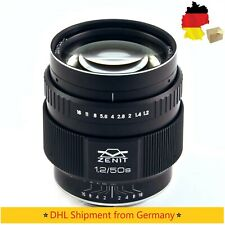 ⭐Objektiv Zenit Zenitar 1,2/50s Lens for Canon EF mount NEW from 2019