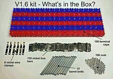 NEW! Vruzend V1.6 DIY Solderless 18650 Battery Holder No Spot Weld Colour Coded