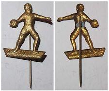 Blech-Abzeichen Anstecknadel Fußball (Torwart)
