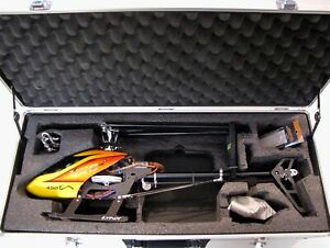 Blade 450X BNF Helicopter with Lynx Frame and Aluminum Carry Case