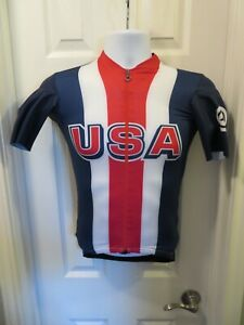NEW ASSOS Team SS Jersey Cycling Men's Small S Limited USA Cycling Team Edition