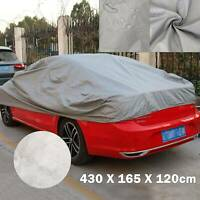 HEAVY DUTY Quality M 2 Layer Outdoor Full Car Cover Waterproof UV Rain Protect
