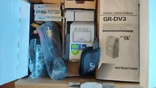 JVC GR-DV3 EK Mini DV Digital Video Camera with New Tapes, Power Cable & More