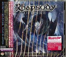 RHAPSODY OF FIRE-INTO THE LEGEND-JAPAN CD F83