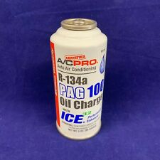 R-134a Refrigerant PAG 100 Oil Charge W/ Performance Enhancer 3oz.